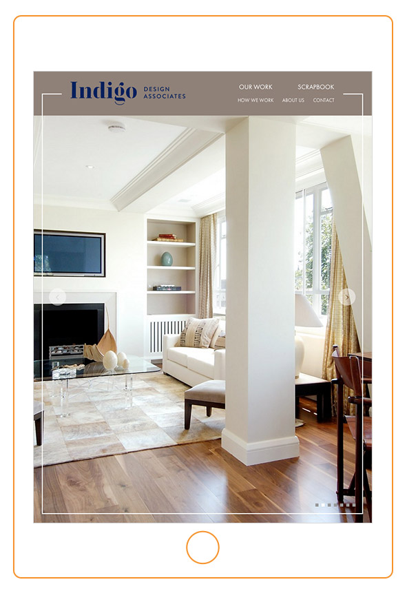 Web Design For Interiors Specialists 2