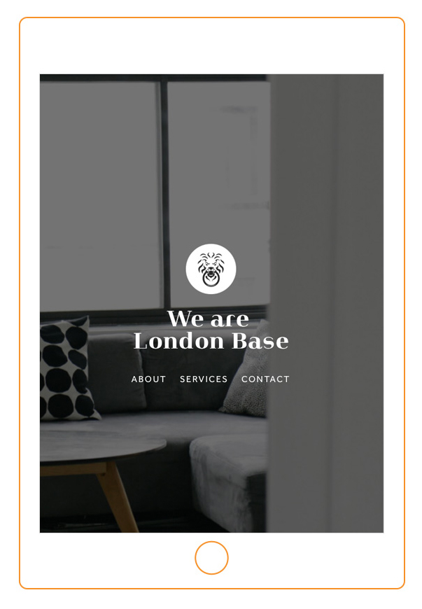 New business startup design: London Base