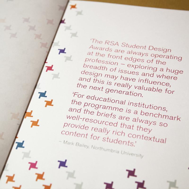 Student Design Awards Manifesto