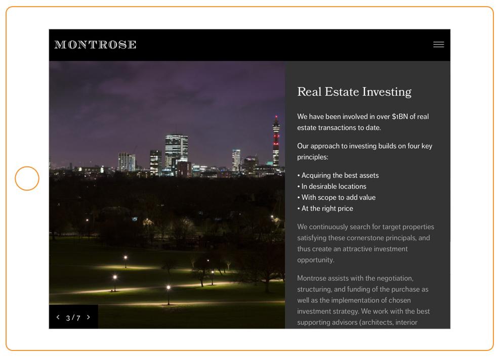 montrose-financial-services-web-design