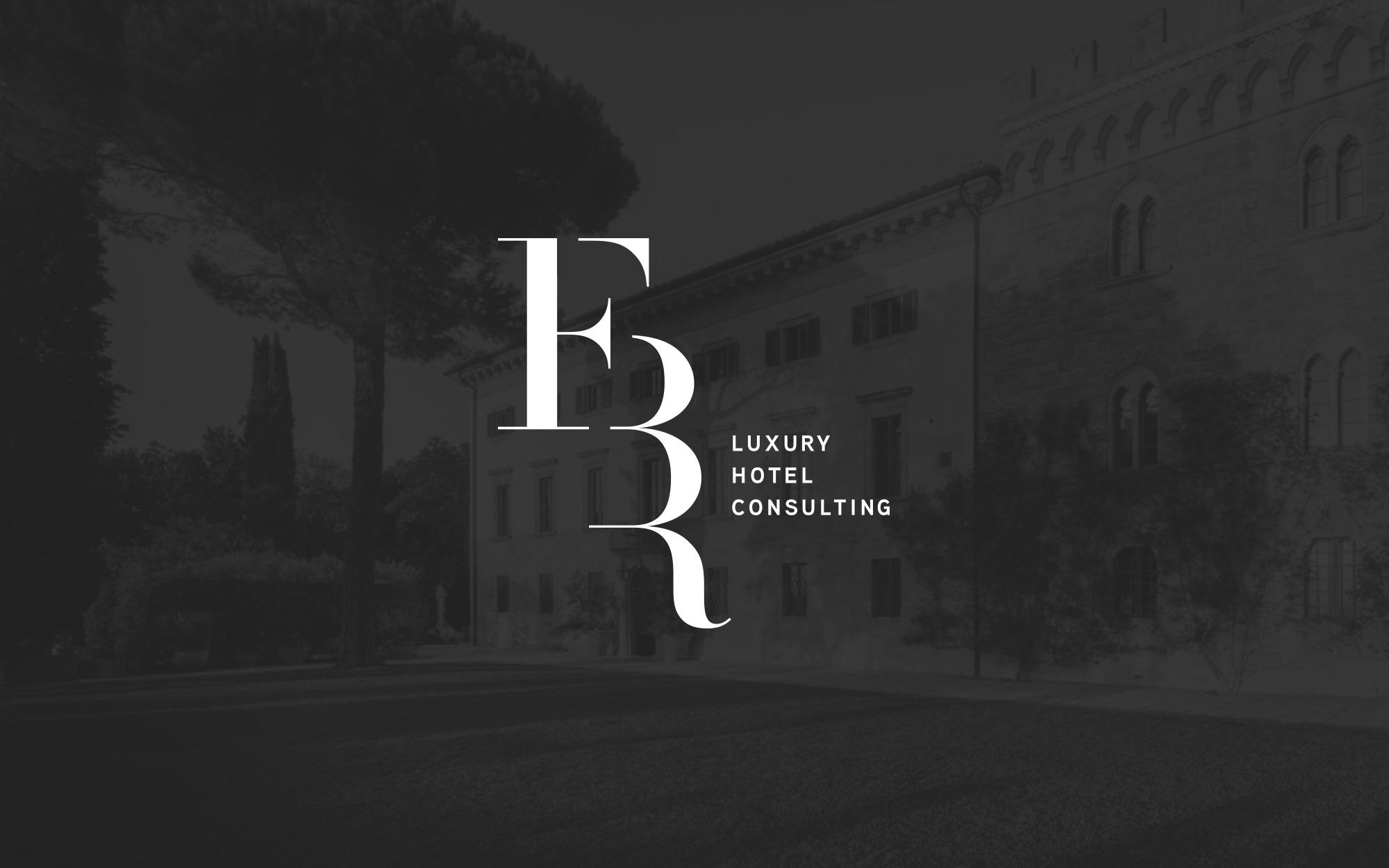 FBR Hotel Consulting Logo Design
